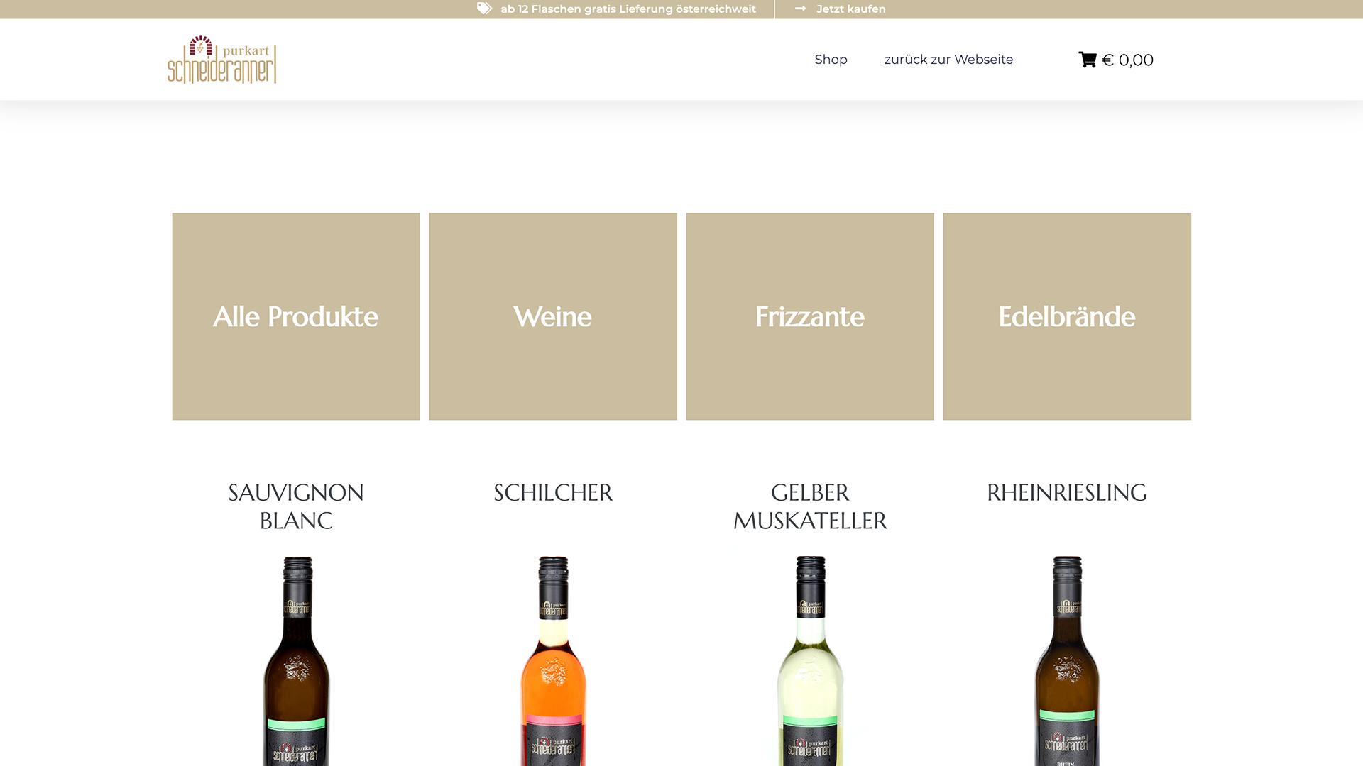 schneiderannerl_weinwerbeagentur_südsteiermark_webshop_website